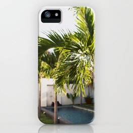 Bali Palm iPhone Case