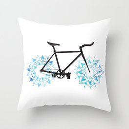 Velo Zen  Throw Pillow