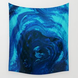 Blue Affection Wall Tapestry