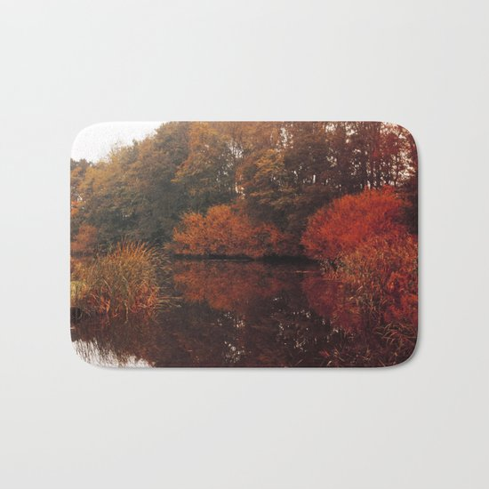 Autumn Scenery #5 Bath Mat