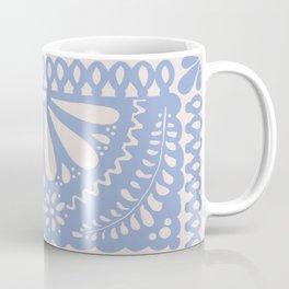 Fiesta de Flores Serenity Blue Coffee Mug