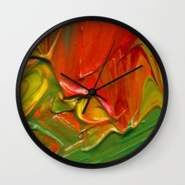 Lapeda Textile Art - 11 Wall Clock