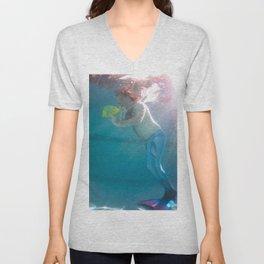 Merman and Flounder Unisex V-Neck