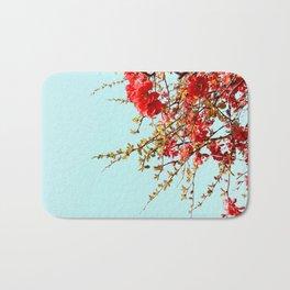 Japanese quince tree #2 Bath Mat