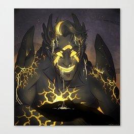 Warrior-Jack Canvas Print