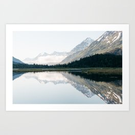 Moose Pass Art Print