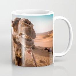 dromedary in desert Coffee Mug