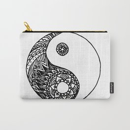 Tangled Yin Yang Carry-All Pouch