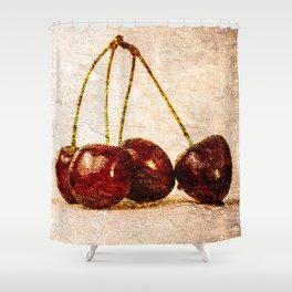 Cherries Panorama Shower Curtain
