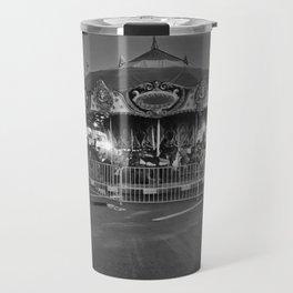 """Carousel"" by Lindsay R. Wiggins Travel Mug"