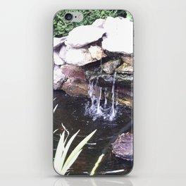 Stone Waterfall iPhone Skin