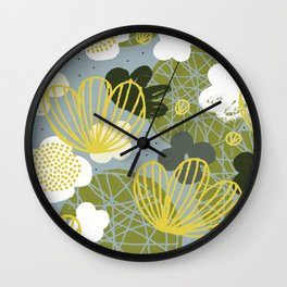 Kokedama Garden by Friztin Wall Clock
