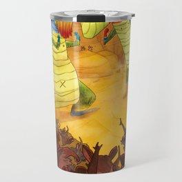 Dinoluchadores Travel Mug