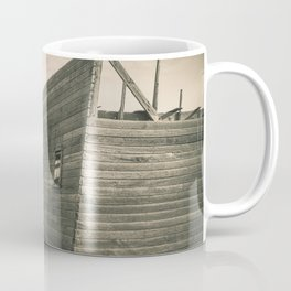 Roofless Barn, Backroads Farmstead, Valley County, MT Coffee Mug