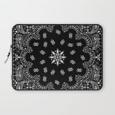 black and white bandana Laptop Sleeve