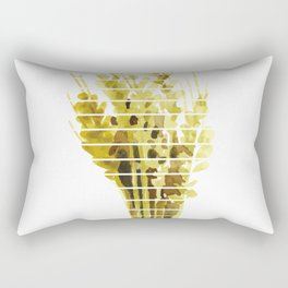 Thanksgiving Sheaf Abstract Minimalist Deco Rectangular Pillow