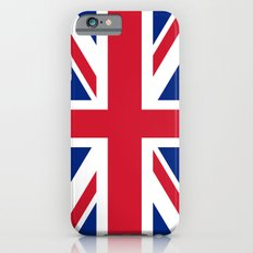 Union Jack, Authentic color and scale 1:2 iPhone 6s Slim Case