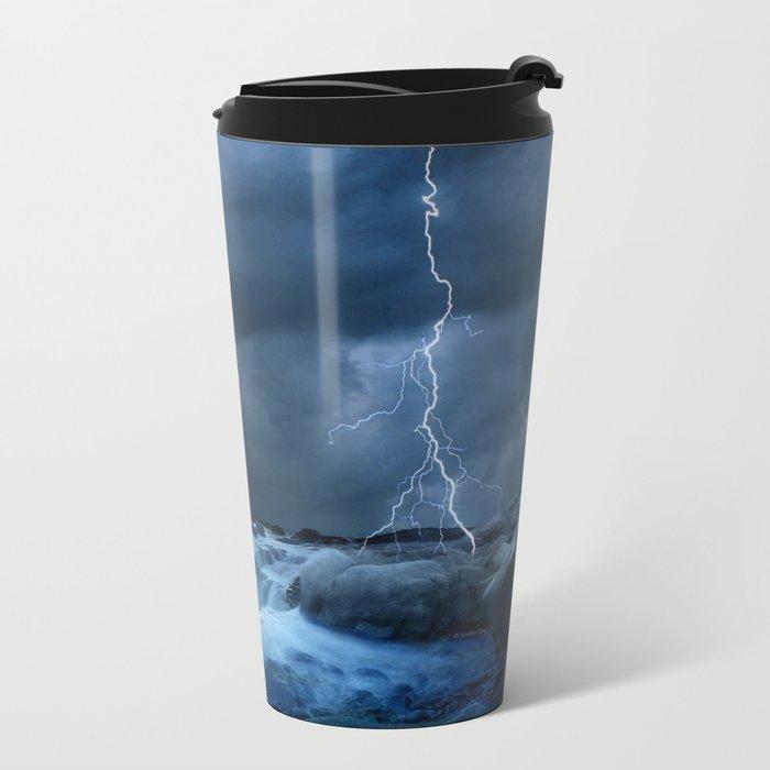 Stronger than the storm Metal Travel Mug