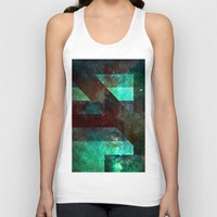 emerald Tank Tops featuring Emerald Nebulæ  by Aaron Carberry