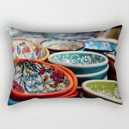 Santorini Bowls Rectangular Pillow