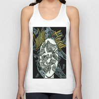 sneaker Tank Tops featuring Sneaker Head by lilbudscorner