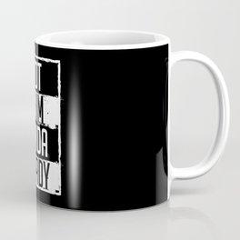 Not Slim Kinda Shady Chubby Gym Design Coffee Mug