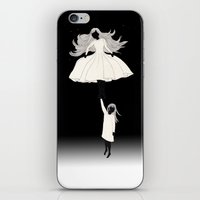 umbrella iPhone & iPod Skins featuring UMBRELLA by auntikatar