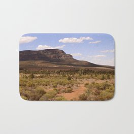 Rawnsley Bluff in the Australian Flinders Ranges Bath Mat