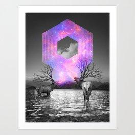 Made of Star Stuff Art Print