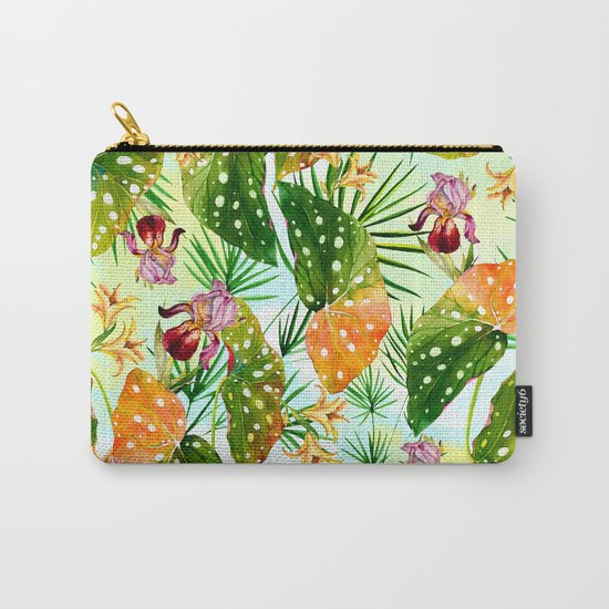 Tropical exotic pattern Carry-All Pouch