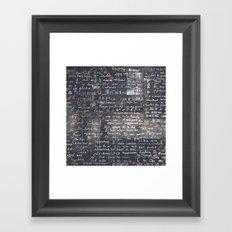 The Wall Of Love Framed Art Print