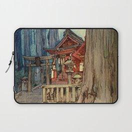 12,000pixel-500dpi - Yoshida Hiroshi - A Misty Day In Nikko - Digital Remastered Edition Laptop Sleeve