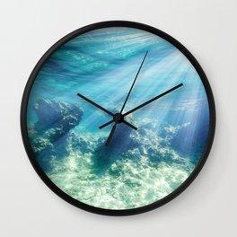 Sea Bottom Wall Clock