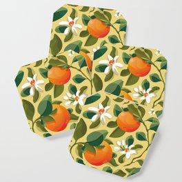 Summer Orange Coaster