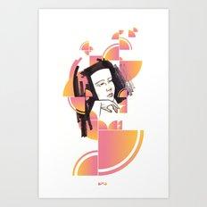 Noir Series 003. Art Print