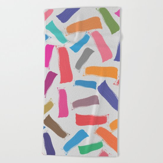 Lovely Pattern IV Beach Towel