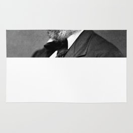 Frederick Douglass Portrait  Rug