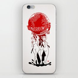 TWIY (TheWorldIsYours)  iPhone Skin
