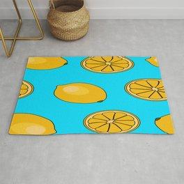 Lemon fruit pattern Rug