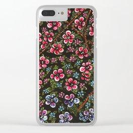L'amour fait rougir Clear iPhone Case