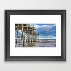 Saltburn Pier Framed Art Print