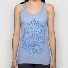 feather vortex Unisex Tank Top