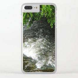 Rushing waters Clear iPhone Case