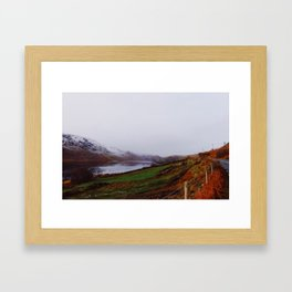 Oh, Fall Framed Art Print