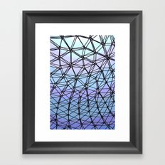 Between The Lines #1 Framed Art Print