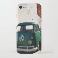vw iPhone & iPod Cases featuring VW GRUNGE by Joedunnz