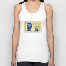 Geeks' Final Moments Unisex Tank Top