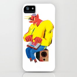 Sold my soul for a sick beat iPhone Case