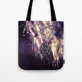 dandelion purple III Tote Bag