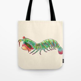 Peacock Mantis Shrimp Tote Bag